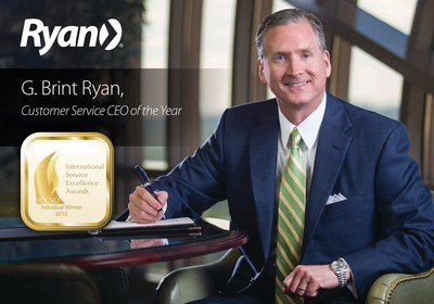 "Ryan, a leading global tax services firm, has won two highly coveted international awards for client service excellence from the Customer Service Institute of America (CSIA), a member of the International Council of Customer Service Organizations (ICCSO). The Firm has been awarded the 2015 International Client Service Excellence Award in the ""Best of the Best"" category for companies, and Chairman and CEO, G. Brint Ryan, has been awarded the 2015 Individual International Client Service Excellence Award..."