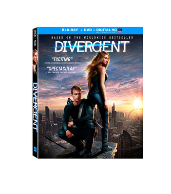 Divergent Blu-Ray Combo Pack, DVD And On Demand August 5
