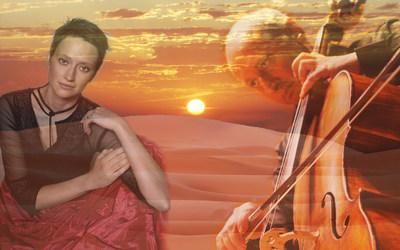 Cellist Misha Quint and Pianist Irina Nuzova perform on Jan 23 at Carnegie Hall in Flights of Fancy.