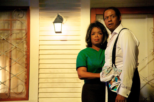 Oprah Winfrey and Forest Whitaker in THE BUTLER.  (PRNewsFoto/Simon & Schuster)