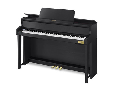 Casio's New Grand Hybrid digital piano, the GP-300.