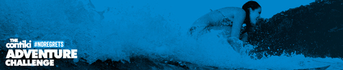 Contiki #NOREGRETS Adventure Challenge.  (PRNewsFoto/Contiki Vacations)