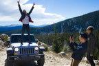 Marc Roberge lead singer O.A.R. conquers St. Mary's Glacier off-road trail in a Jeep Wrangler in advance of the Jeep on the Rocks concert at Red Rocks Amphitheatre. (PRNewsFoto/Chrysler Group LLC)