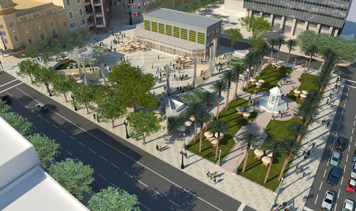 City Leaders Break Ground on World-Class Urban Plaza in Downtown San Diego