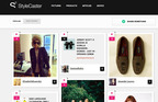 StyleCaster.com will let you share photos, links, products, and questions. You can also 'Love' things to make them popular.  (PRNewsFoto/StyleCaster Media Group)