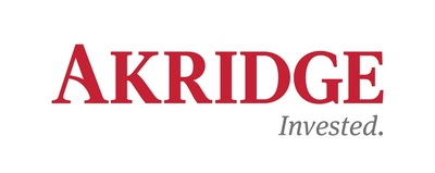 Akridge Logo.