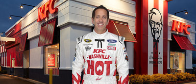 "Driver Greg Biffle will carry the names of all 2,100 Kentucky Fried Chicken(R) restaurant general managers on his No. 16 car this weekend at the Daytona 500 to celebrate their dedication to cooking KFC's famous fried chicken ""The Hard Way:"" preparing each piece of juicy chicken by hand every day."
