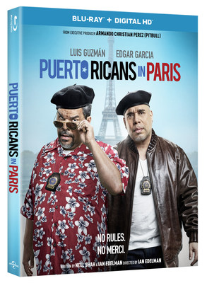 From Universal Pictures Home Entertainment: Puerto Ricans in Paris