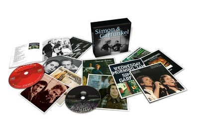 Columbia Records and Legacy Recordings, the catalog division of Sony Music Entertainment, will release Simon & Garfunkel - The Complete Albums Collection on Monday, November 24. (PRNewsFoto/Legacy Recordings)