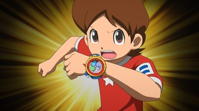 YO-KAI WATCH -- Nate and his new Yo-Kai Model Zero Watch