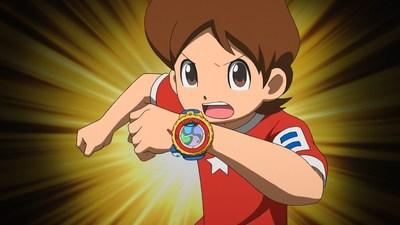 YO-KAI WATCH -- Nate and his new Yo-Kai Model Zero Watch
