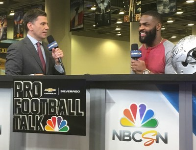 DeMarco Murray teams up with Wahl to debut fresh new look on Radio Row in San Francisco.