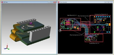 Mentor Graphics(R) new Xpedition(R) Enterprise flow with automated layout capabilities lets PCB engineers easily design and verify rigid-flex products within the integrated 3D environment to manage today's PCB systems complexity challenges.