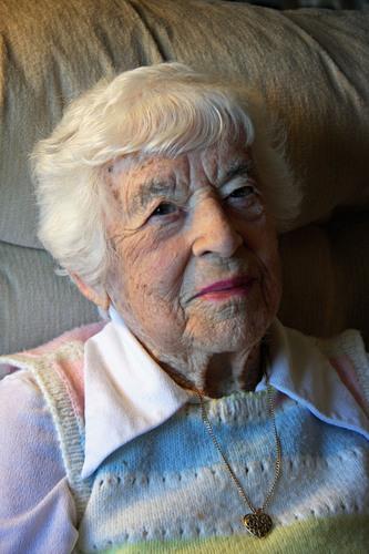 Flushing House Resident Gertrude Coopersmith Celebrates 100th Birthday