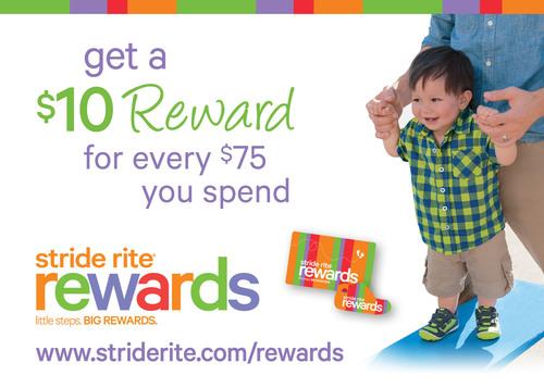 Stride Rite(R) Passes Million Member Mark in First-Ever Loyalty Program.  (PRNewsFoto/Stride Rite ...