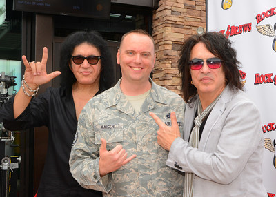 Gene Simmons and Paul Stanley are honoring veterans and first responders this Veterans Day at Rock & Brews locations nationwide.