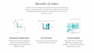 Benefits of video