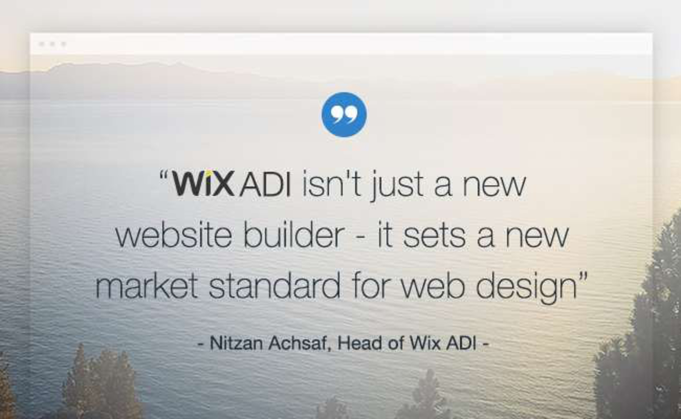 Wix announced Wix ADI