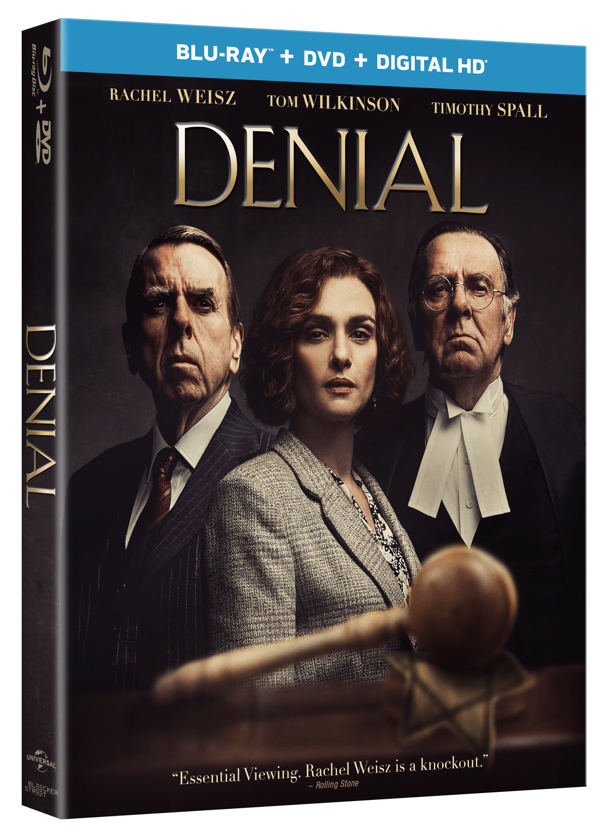 Academy Award' Winner Rachel Weisz, Tom Wilkinson And Timothy Spall Star In The Inspirational True Story Of A Battle For Justice: Denial
