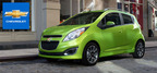 The 2014 Chevy Spark is a great city driving option.  (PRNewsFoto/Broadway Automotive)