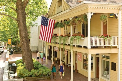 "It's no wonder that Architectural Digest Magazine chose Dahlonega, Georgia as one of their favorite ""Best Small Towns"" because of its carefully restored historic buildings, wineries, wine tasting rooms, Gold Rush history and plenty more to see and do."