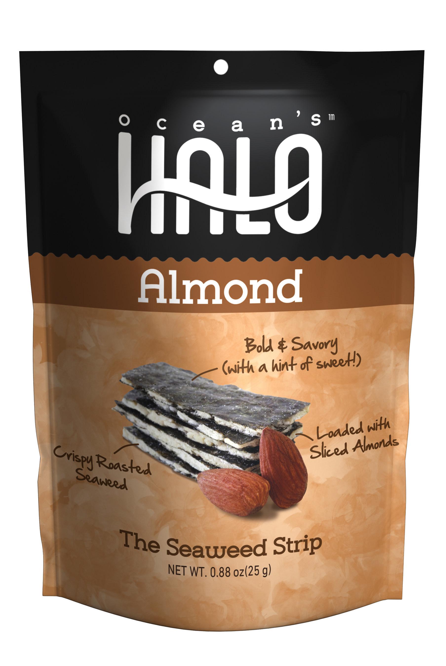 Ocean's Halo Almond Seaweed Strips