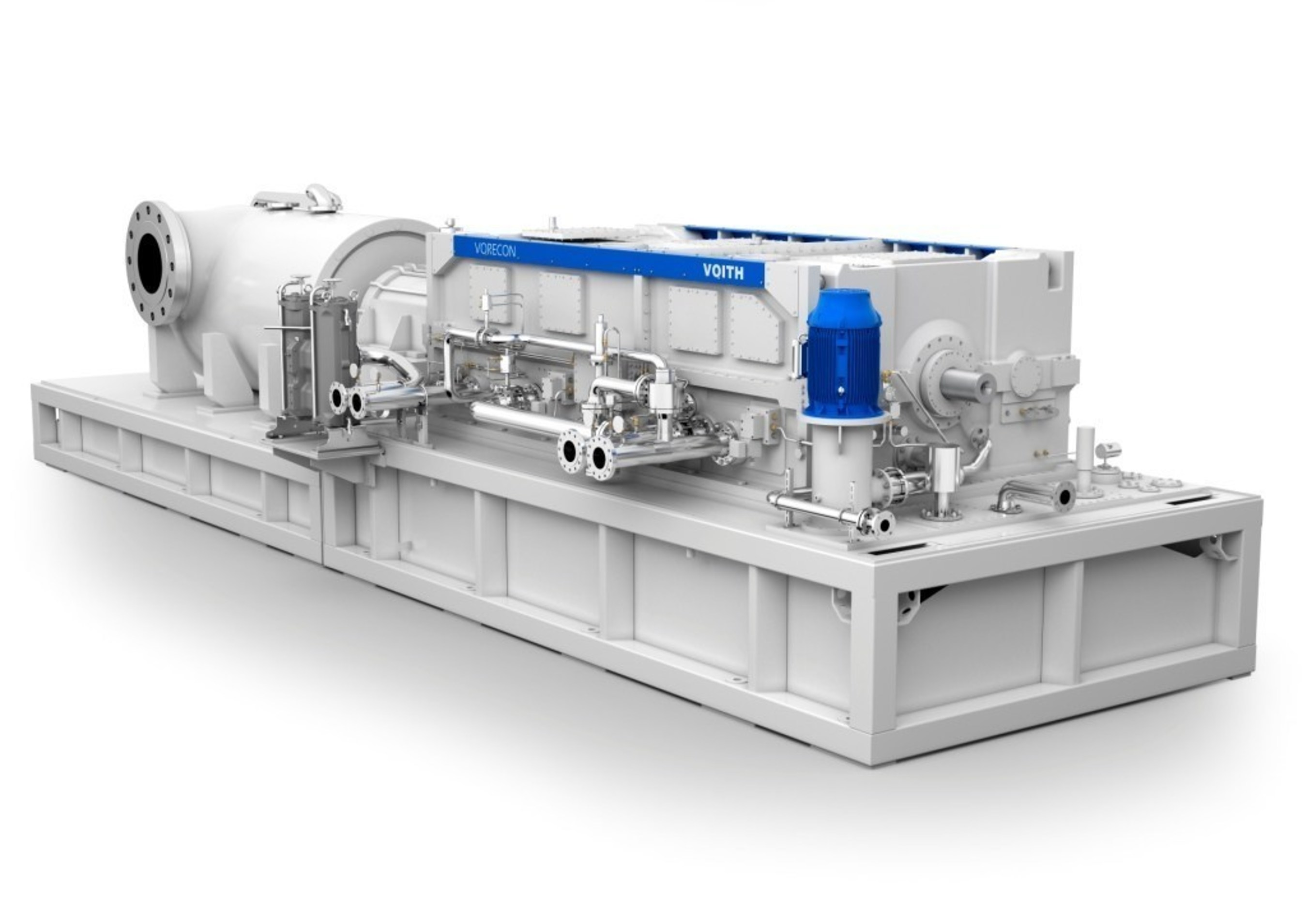 The Voith Variable Speed Planetary Gear Vorecon with Dual Torque Converter.