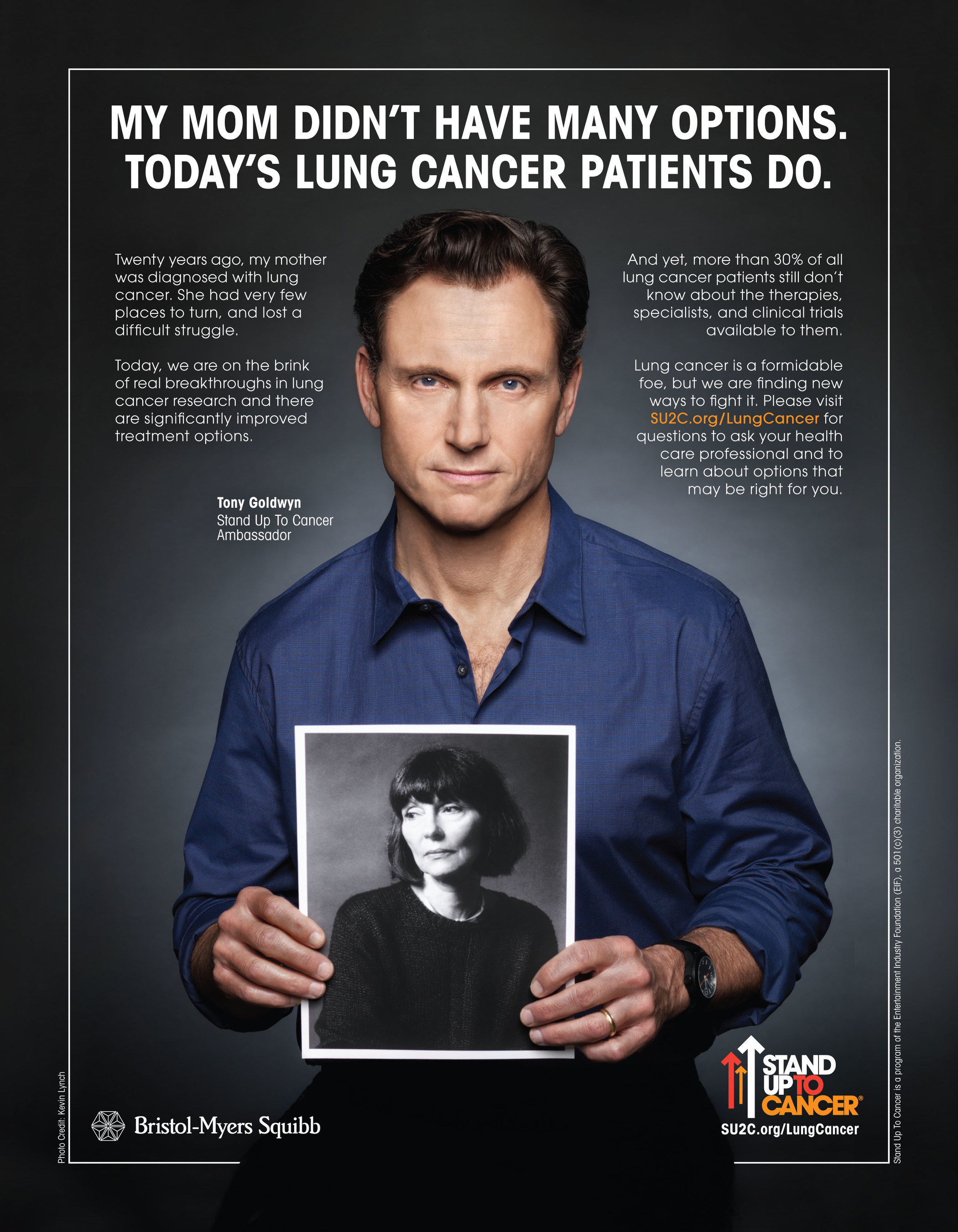 Tony Goldwyn Honors His Mother In New Lung Cancer PSA For Stand Up To Cancer