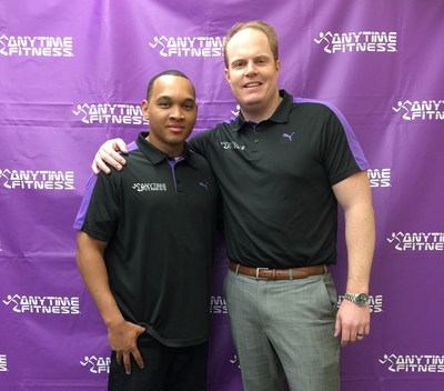 Anytime Fitness Owners, Mike Moyer and Dearonne Bethea