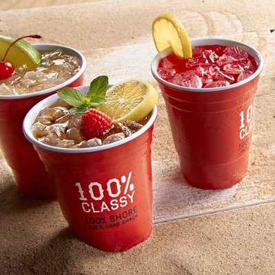 Joe's Crab Shack Party Cups (PRNewsFoto/Joe's Crab Shack)