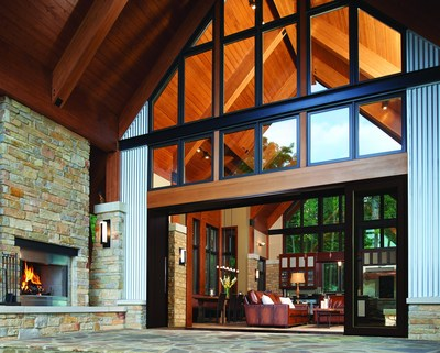 The Ultimate Multi-Slide Door is the latest addition to Marvin's Scenic Doors line.
