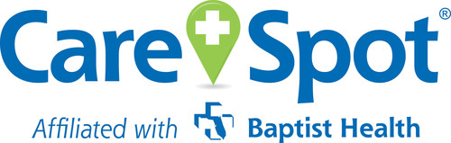 CareSpot Affiliated with Baptist Health: Urgent Care, Health Checks, and Occupational Health. www.carespot.com. (PRNewsFoto/CareSpot) (PRNewsFoto/CARESPOT)