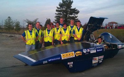 Last year's winners from the University of Kentucky - students Joshua Morgan, Daniel Cambron, John Broadbent, Zach Reeder, and Chris Heintz, and advisor Matthew Morgan - designed a project that conducted live testing of performance parameters on a solar car. Their objective was to increase the efficiency of the solar car vehicle by at least 10 percent, while saving time by quickly finding and minimizing inefficient components. Using Fluke Connect, they saw a 16 percent decrease in idle energy consumption...