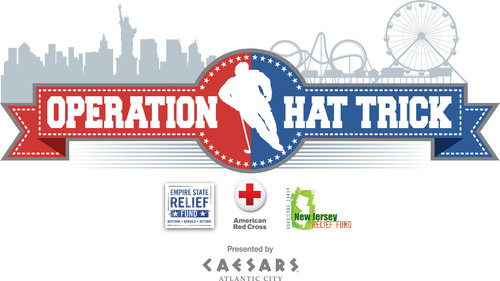 Hockey stars and Caesars Atlantic City announce exhibition game in Atlantic City to support Sandy relief on ...
