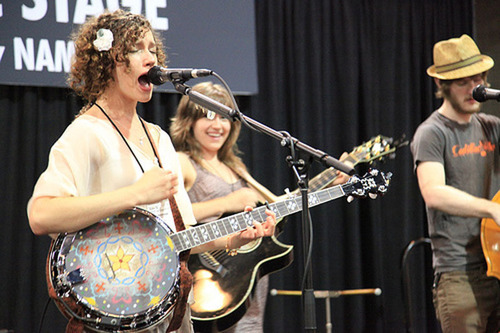 Folk and Bluegrass Instrument Boom Rocks NAMM in Nashville.  (PRNewsFoto/National Association of Music ...