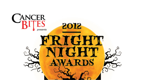 2012 Fright Night Awards presented by Cancer Bites. www.frightnightawards.com.  (PRNewsFoto/Cancer Bites)