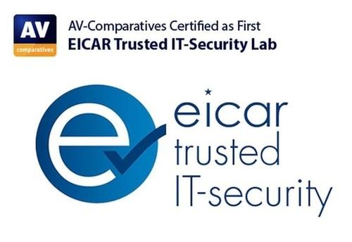 eicar-trusted-security-lab (PRNewsFoto/AV-Comparatives) (PRNewsFoto/AV-Comparatives)