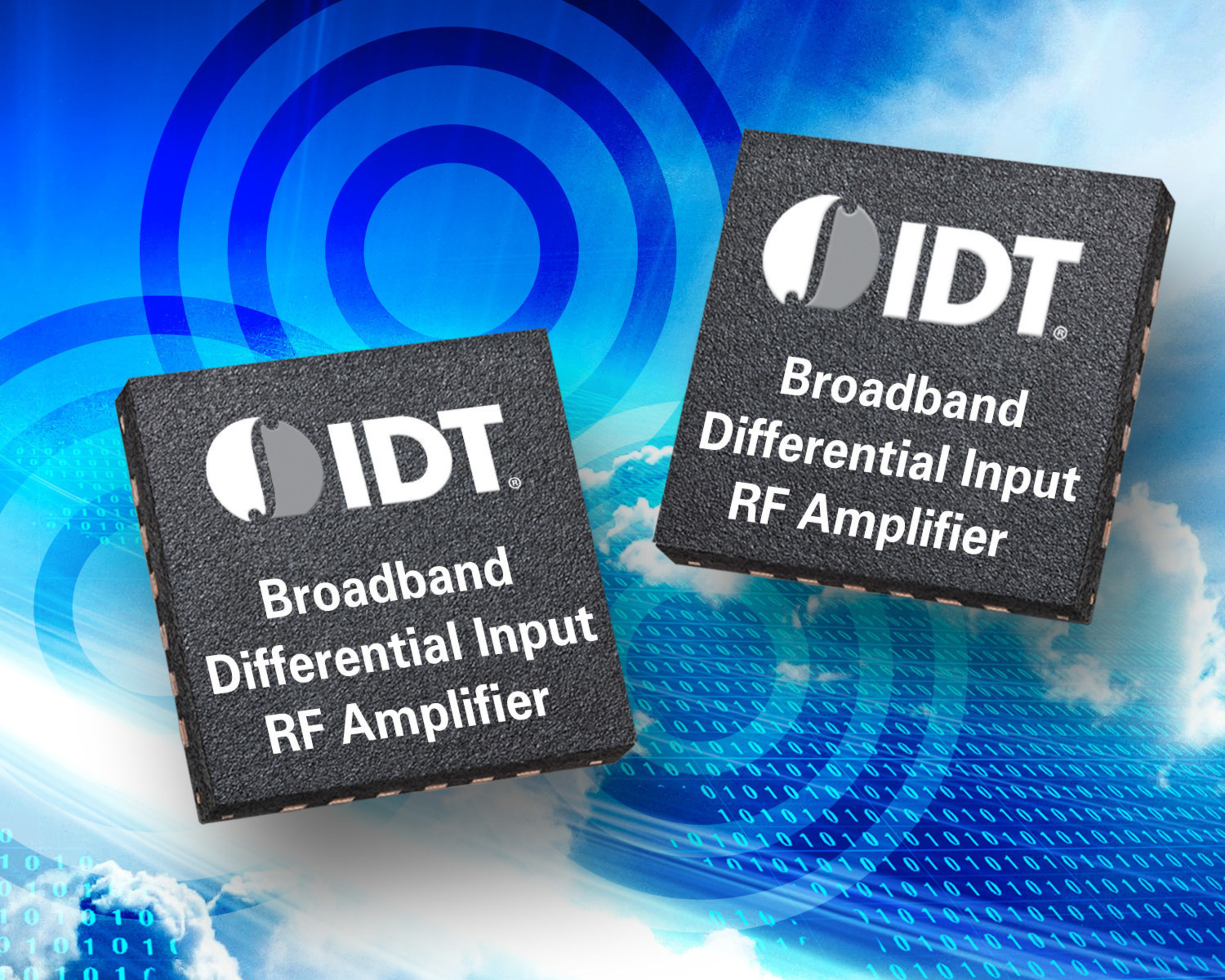Idt Announces Broadband Differential Input Rf Amplifier Simplifying Mixed Signal Transceiver Dac And Integrated Based Designs