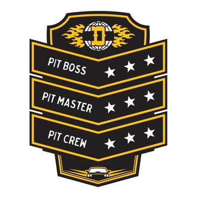 The new in-store positions are called Pit Crew, Pit Master and Pit Boss.