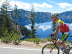 Travel Oregon Announces Inaugural Car-Free Weekend at Crater Lake National Park. Photo Credit: RideCyclingTours.com.  (PRNewsFoto/Crater Lake National Park)