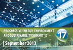 Progressive Energy, Environment & Sustainability Summit #17.  (PRNewsFoto/FMA Summits Inc.)