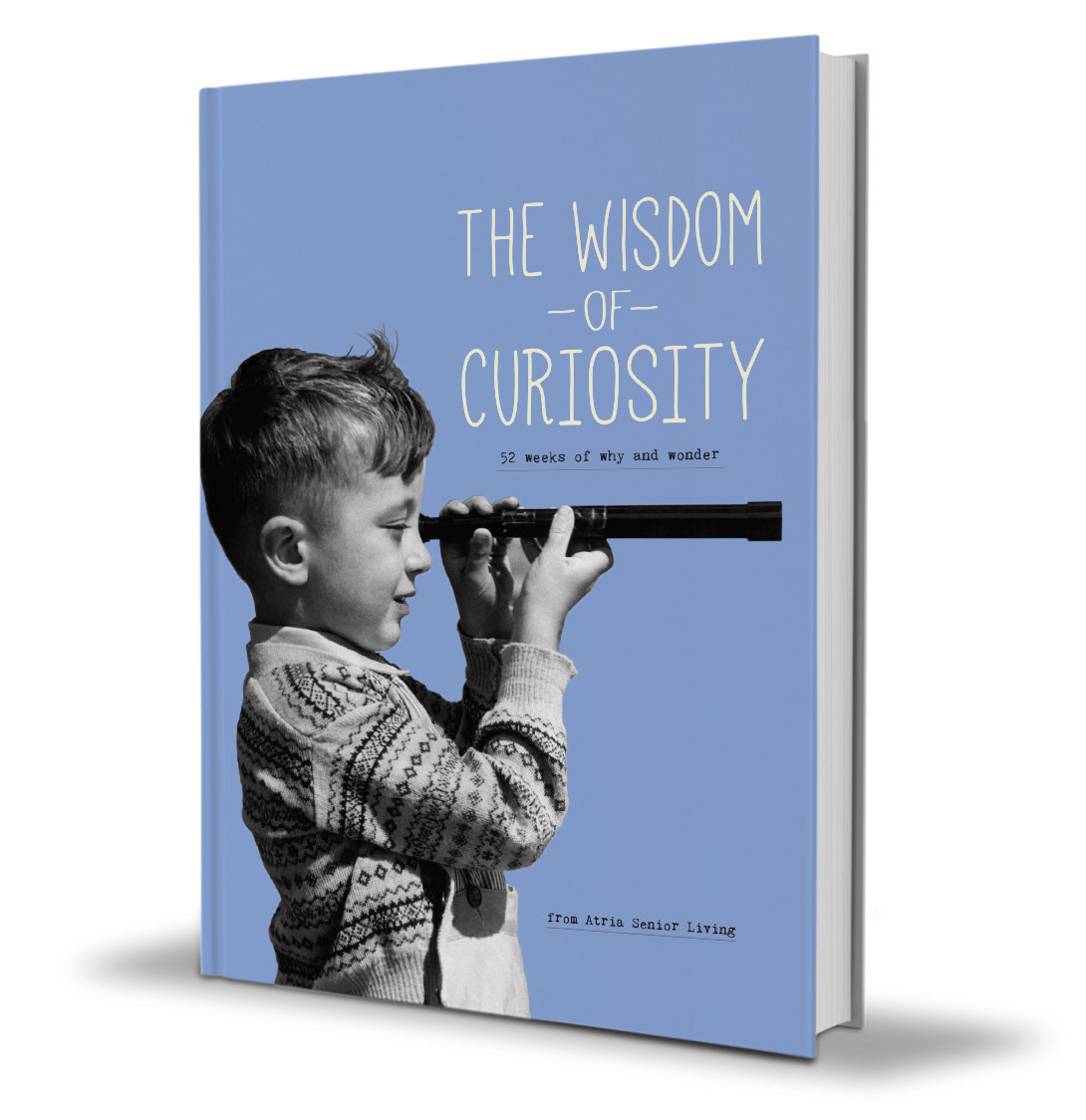 The Wisdom of Curiosity is a planner that provides a framework for a 52-week journey of learning and new experiences.