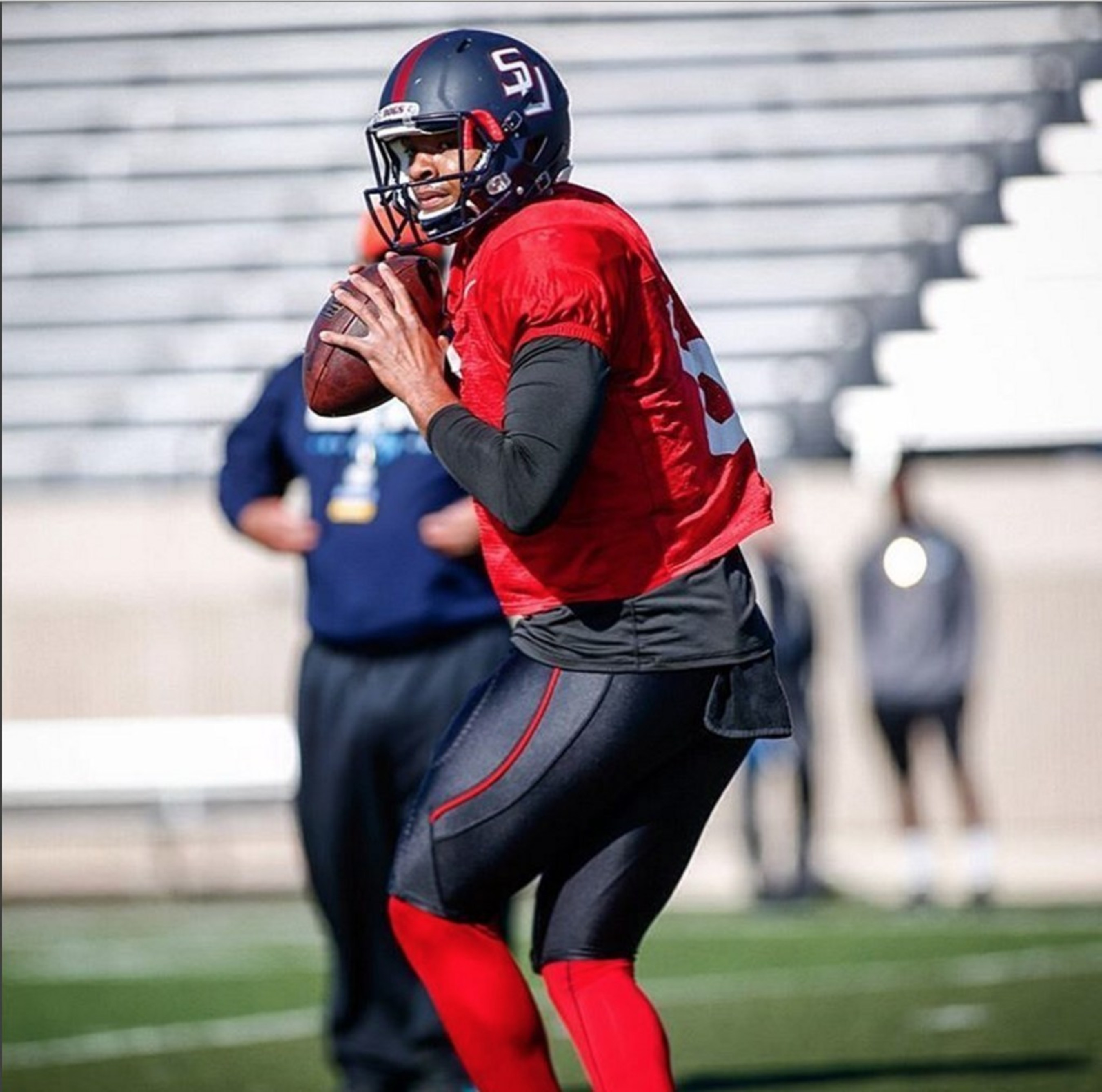 Gigantic Gunslinger 6-5, 245 QB Michael Eubank of Samford Is Has Great Interest From Carolina Panthers, Buccaneers, and Raiders per Inspired Athletes
