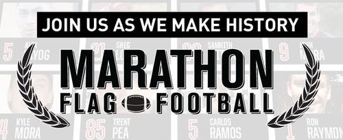 Marathon Flag Football.  (PRNewsFoto/Play Flag Football)