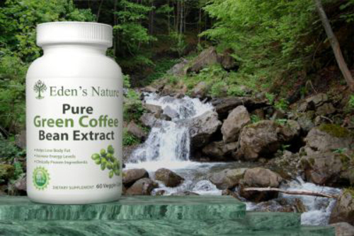 Green Coffee Bean Extract Now Available For Purchase on Amazon.com.  (PRNewsFoto/Eden's Nature)