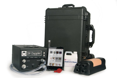 The complete DR Doppler Ultrasound Training System