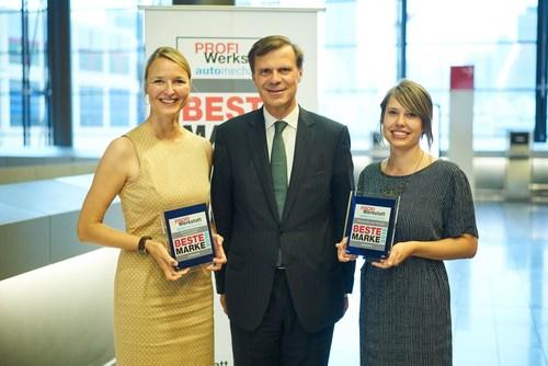 Stefanie Schmidt (Head of Marketing), Pierre Fleck (CEO), Anna Lena Black (Public Relations) (PRNewsFoto/EUROPART Holding GmbH)