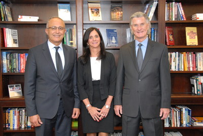 Dr. Al Zeitoun, Deborah Bigelow Crawford, J. Kent Crawford