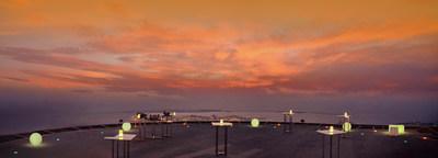 The St. Regis Abu Dhabi Helipad Sunset Supper (PRNewsFoto/The St. Regis Abu Dhabi)