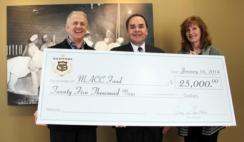 Sartori Supports MACC Fund